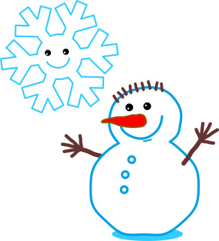 Maze Game with Snowflake and Snowman, Commercial Use Allowed