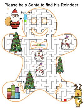 Maze Home activity book for Kids ( preschool to Kindergarten)
