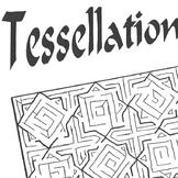 Maze Islamic Tessellation