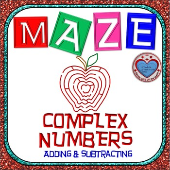 Maze - Operations on Complex Numbers - Addition & Subtraction