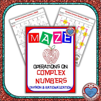 Maze - Operations on Complex Numbers - Division & Rationalizing