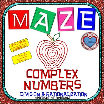 Maze - Operations on Complex Numbers - Division of Binomia