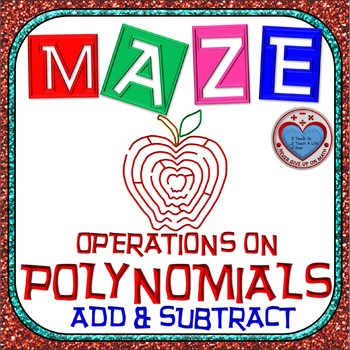 Maze - Operations on Polynomials - Adding & Subtracting Po
