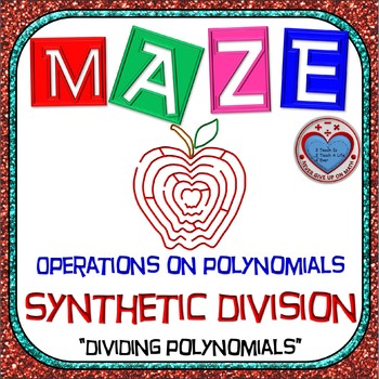 Maze - Operations on Polynomials - Dividing Polynomials by Synthetic Division