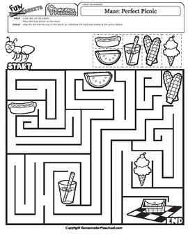 Maze: Perfect Picnic