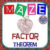 Maze - Polynomial Functions & The Factor Theorem