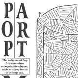 Maze Pop Art