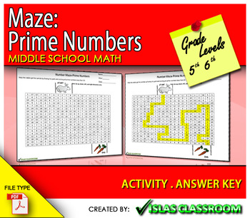 Maze-Prime Numbers