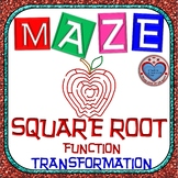 Maze - Radical Functions Transformation - Level 1
