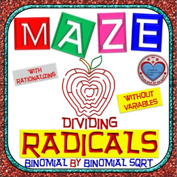 Maze - Radicals - Dividing Binomial by Binomial