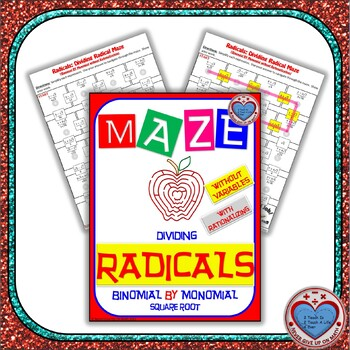 Maze - Radicals - Dividing (Binomial by Mono) - (With Rationalization)