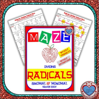 Maze - Radicals - Dividing (Binomial by Mono) - (Without Rationalization)