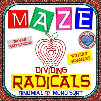 Maze - Radicals - Dividing (Binomial by Mono) - (Without R