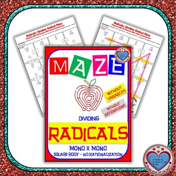 Maze - Radicals - Dividing (Mono by Mono) - SIMPLE