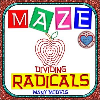 Maze - Radicals - Dividing Radicals (ALL models in ONE)
