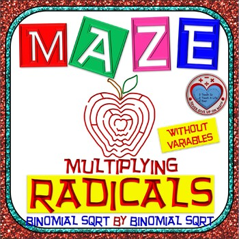 Maze - Radicals - Multiplying (Binomial by Binomial) - Without Var