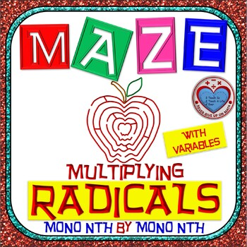 Maze - Radicals - Multiplying (Mono nth root by Mono nth root) - With Var