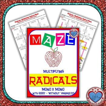 Maze - Radicals - Multiplying (Mono nth root by Mono nth root) - Without Var