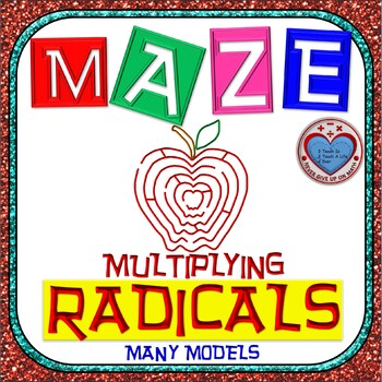 Maze - Radicals - Multiplying Radicals (ALL models in ONE)