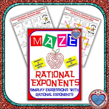 Maze - Rational Exponents - Simplify Expressions with ...