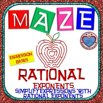 Maze - Rational Exponents - Simplify Expressions with Rati