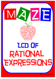 Maze - Rational Expressions - Finding the Least Common Denominator