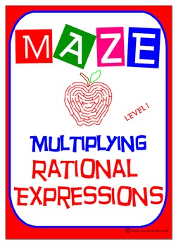 Maze - Rational Expressions - Multiplying RE (Level 1)