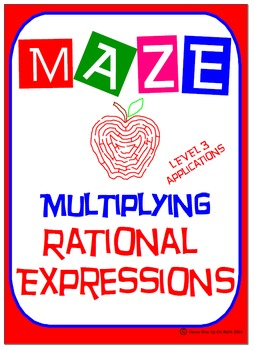 Maze - Rational Expressions - Multiplying RE (Level 3) App