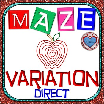Maze - Rational Functions: Direct Variation - Find the missing value