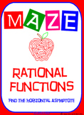 Maze - Rational Functions - Find the Horizontal Asymptote
