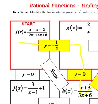 Rational functions and asymptotes pdf file