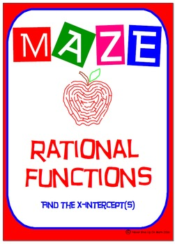 Maze - Rational Functions - Find the x-intercept(s)