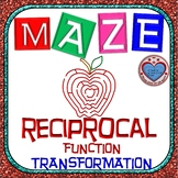 Maze - Transformation of Reciprocal Function