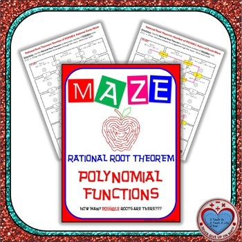 Maze - Rational Root Theorem: How many POSSIBLE Roots are there?