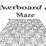 Maze Renaissance Checkerboard Floort