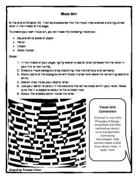 Maze Runner Novel Study