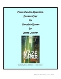 The Maze Runner -- Comprehension Chapter Questions -- Ch 1 and 2