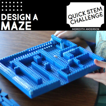 Maze STEM Challenge - Quick STEM Activity