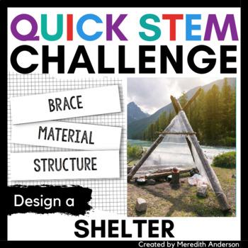 Shelter STEM Challenge - Quick STEM Activity