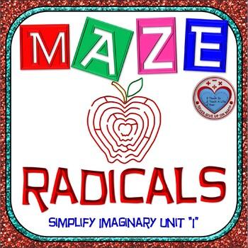 """Maze - Simplifying Radicals using """"i"""""""