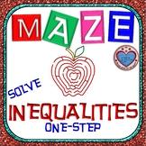 Maze - Solving One-Step Inequalities
