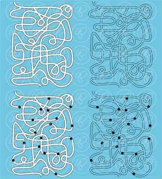 Maze Template Clipart by Poppydreamz