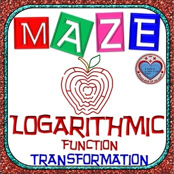 Maze - Transformation of Logarithmic Functions