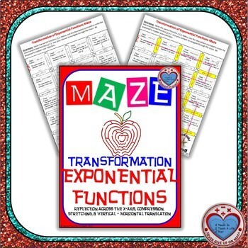 Maze Transformation Of Exponential Functions By Never