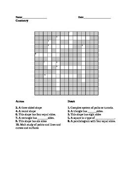 Maze and Crossword