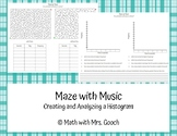 Maze with Music - Creating and Analyzing Histograms