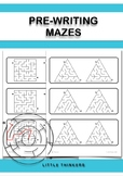 Mazes: Pre-writing resource