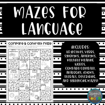 Mazes for Language