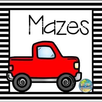 Mazes for Preschool Students