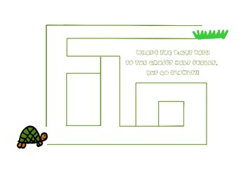 Mazes for the little ones